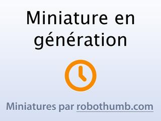 Capture du site http://www.paris-achats.com